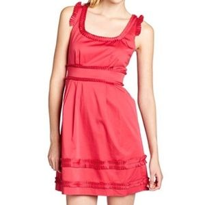 Nordstrom Max&Cleo Betty Cotton Pleated Dress